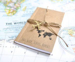 Regalos para viajeros: cuaderno de viaje