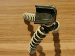 Trípode flexible para cámara o celular