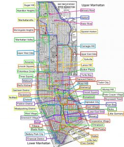 Barrios Manhattan - Viaje a Nueva York