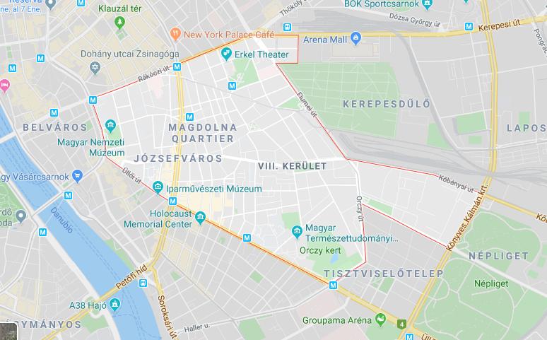 dónde hospedarse en Budapest - Józsefváros