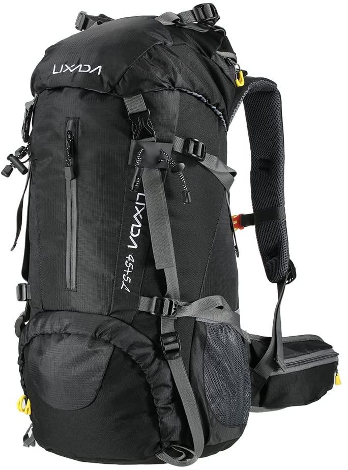 mochilas para mochileros -Lixada Mochila de Senderismo 50L/60L